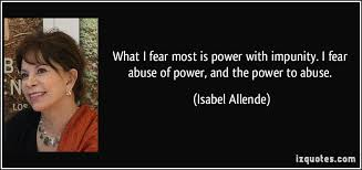 power to abuse