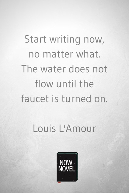 start-writing-Louis-L-Amour-picture-quote